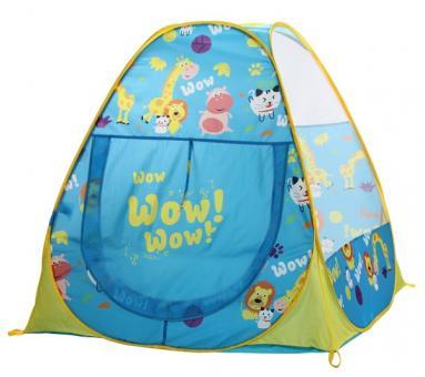 Игровой домик - палатка с мячиками Парк животных