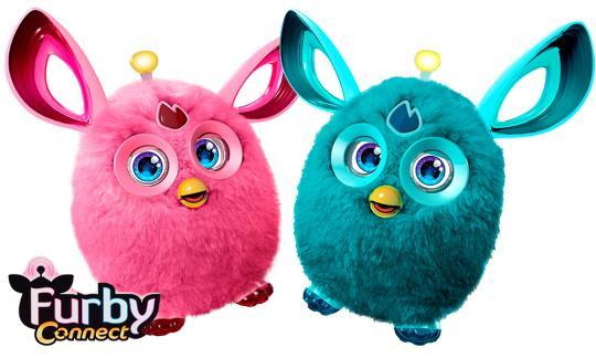 Интерактивная игрушка Furby Ферби Коннект Яркие цвета