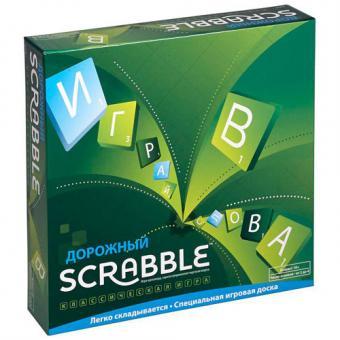 Настольная игра Scrabble Скраббл Дорожный