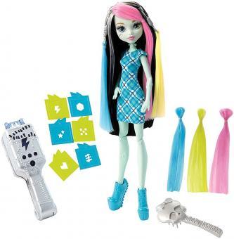 Кукла Monster High Стильная прическа Фрэнки