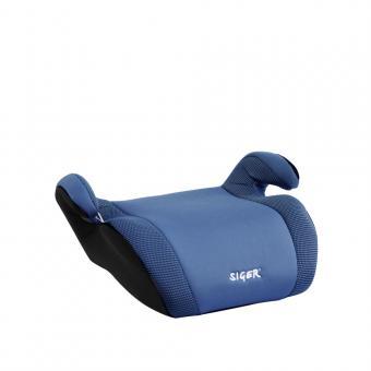 Детское автомобильное  сиденье SIGER Мякиш Плюс гр.3  синий