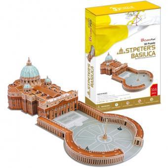3D Пазл Собор Святого Петра (Ватикан, Италия)