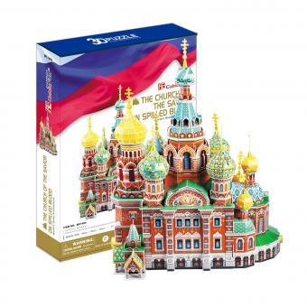 3D Пазл Собор Воскресения Христова (Россия)