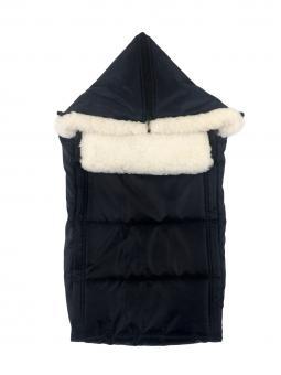 Спальный мешок в коляску черный