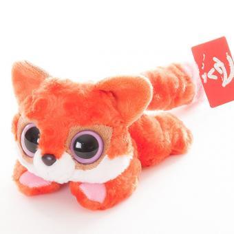 Юху и друзья Игрушка мягкая  Лисица красная лежачая 16 см