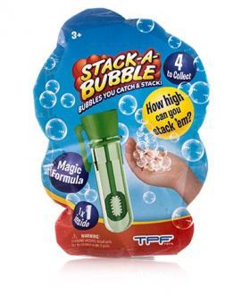 Stack-A-Bubble Застывающие мыльные пузыри - мини