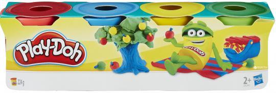Play-Doh Набор из 4  мини баночек