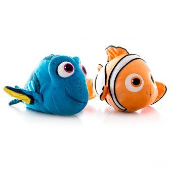 Плюшевый подводный обитатель 15 см со звуком, 2 вида