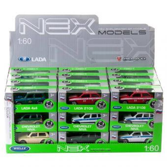 Модель машины 1:60, отечественные модели