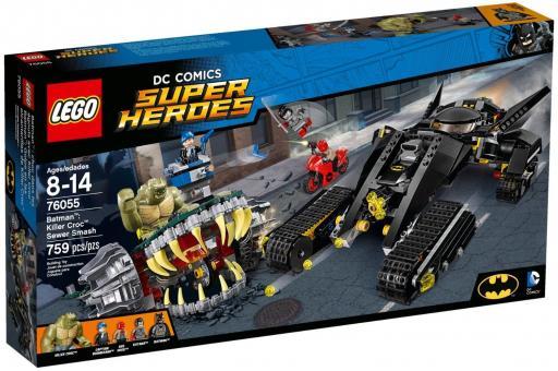 Конструктор Супер Герои Бэтмен™: Убийца Крок™