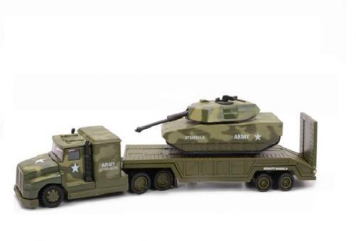 Военный перевозчик + танк