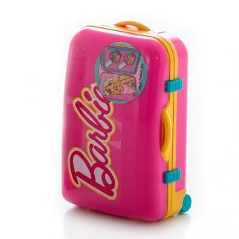 Barbie Игровой набор детской декоративной косметики в чемоданчике роз.