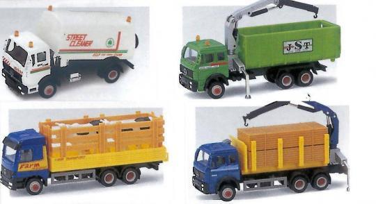 Игрушка модель грузовика 15см.