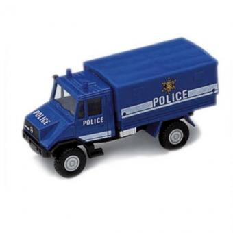 Игрушка модель грузовик с кузовом Полиция