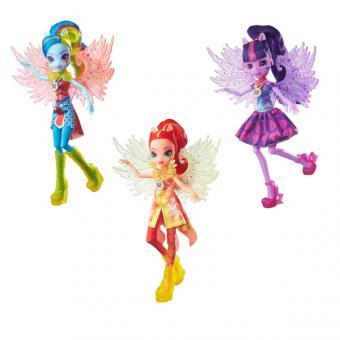 My Little Pony Equestria Girls кукла делюкс с аксессуарами Легенда Вечнозеленого леса, в ассорт.