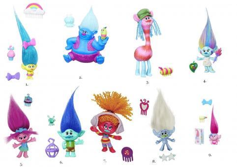 Trolls Коллекционные фигурки в ассортименте