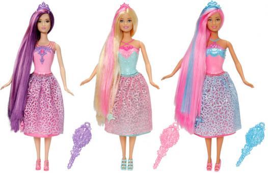 Barbie Куклы-принцессы с длинными волосами