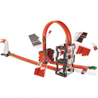 Hot Wheels Конструктор трасс: взрывной набор