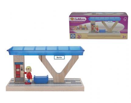 Железнодорожная  платформа, 8*20*10 см
