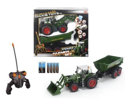 Трактор с прицепом на РУ, 3-х канальный, 60 см, 3 км/ч