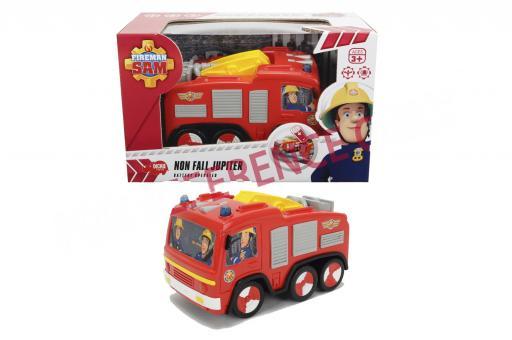 Пожарный Сэм, пожарная машина Юпитер, со светом, 14 см