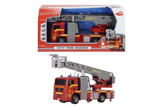 Пожарная машина, 31 см, свет, звук, вода