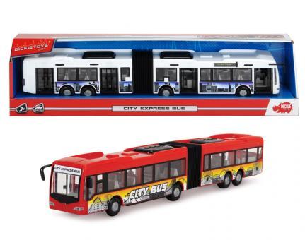 Городской автобус фрикционный, 2 в, 1:43, 46см