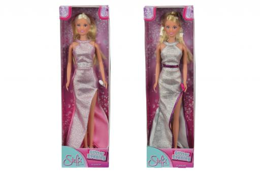 Кукла Штеффи в сияющем вечернем платье, 29см, 2в.