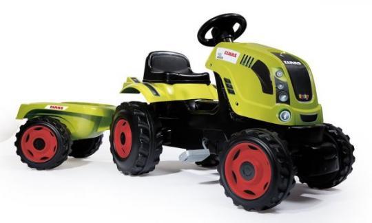 Трактор педальный XL с прицепом, CLAAS