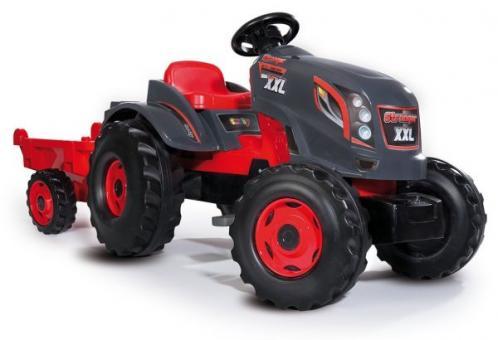 Трактор педальный XXL с прицепом