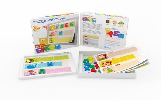 Игровой набор Мягкие магнитные БУКВЫ