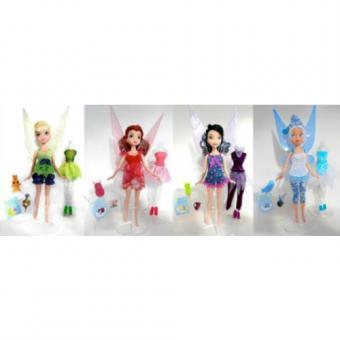 Кукла делюкс Волшебная Фея с доп. одеждой и аксесс., 22,5 см (4 в ассорт.)