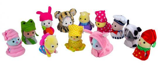 Костюмчики для хомячков-малышей  Zhu Zhu Babies, 6 наборов
