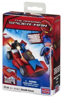Транспортное средство с пусковым устройством + фигурка Spider-Man 4, Stealth Racer