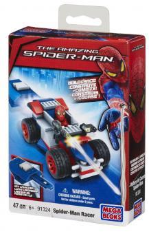 Транспортное средство с пусковым устройством + фигурка Spider-Man 4, Racer