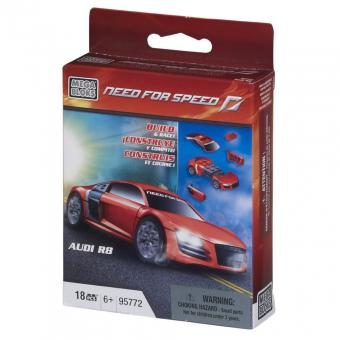 Констуктор с транспортным средством  Need For Speed, Audi R8