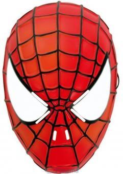 Маска Человек-паук,светящаяся в темноте