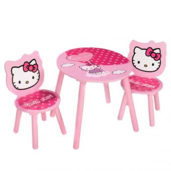 Столик и 2 стульчика Hello Kitty