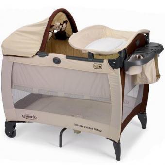 Детский манеж- кроватка Graco Electra Deluxe GBIE