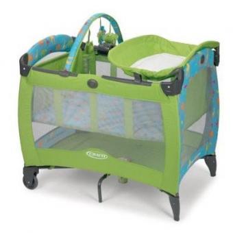 Детский манеж- кроватка Graco Electra Deluxe GUSE