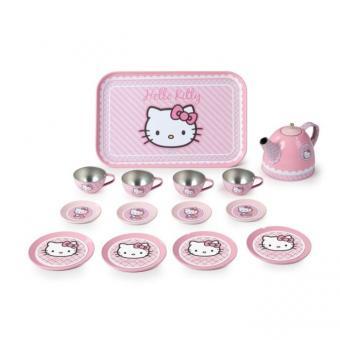 Чайный набор Hello Kitty, металлический