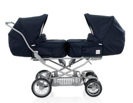 Детская коляска для двойни Inglesina Domino Twin
