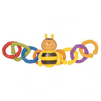 Погремушка на коляску Пчелка