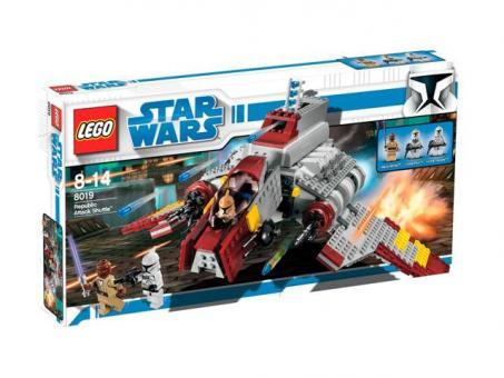 Конструктор Lego Star Wars Атакующий шатл Республиканцев