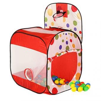 Игровой домик - палатка с мячиками (100 шт.)