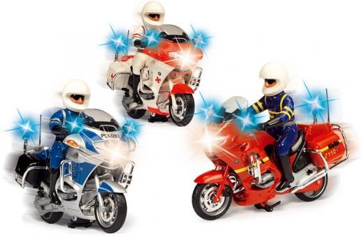 Мотоцикл SOS, свет/звук