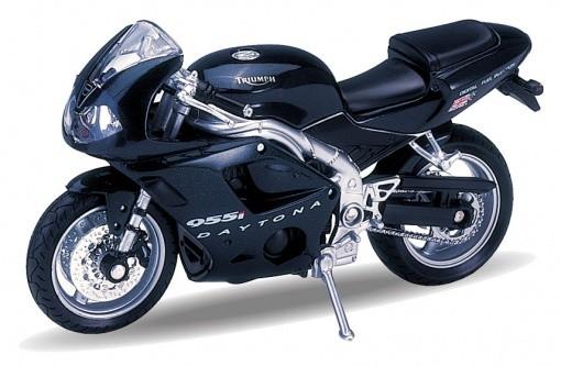 Модель мотоцикла 1:18 Triumph Daitona 955I