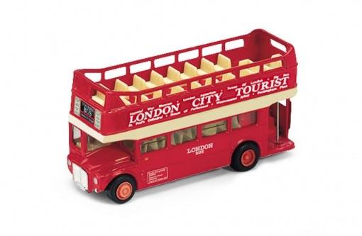 Модель автобуса 1:34-39 London Bus открытый