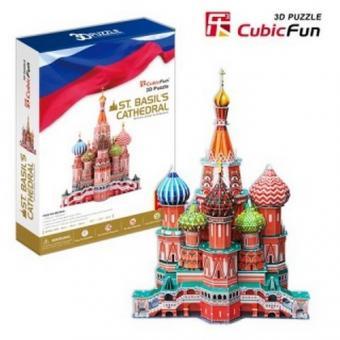 3D Пазл Собор Василия Блаженного