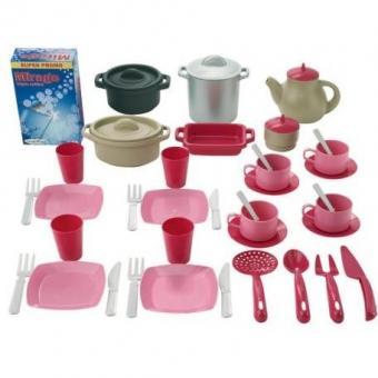 Набор посуды, 45 предметов